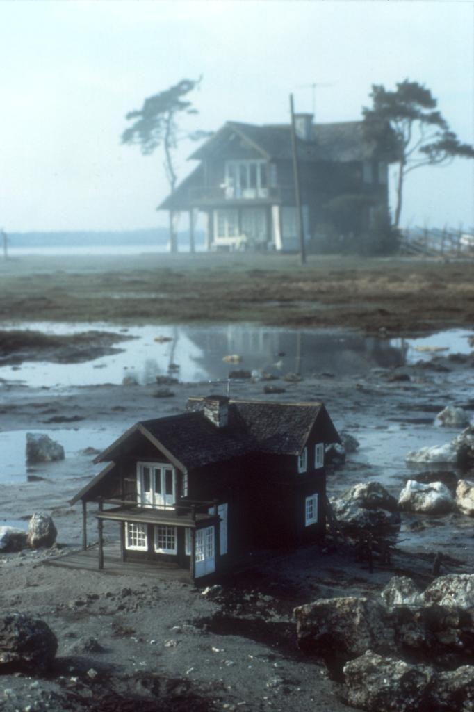 "The house from ""The Sacrifice"" [Offret], Andrei Tarkovsky, 1986 (photo: Lars-Olaf Löthwall)"
