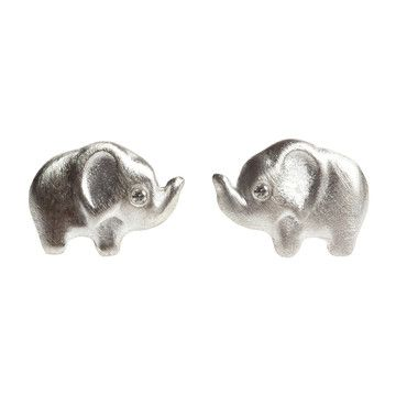 Michelle Chang Jewelry: Diamond Elephant Studs, at 20% off!