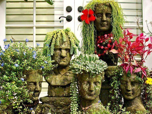 odd stuff to use as a planter | 18 kreative Gartenideen – Gebrauchte Möbel als Gartendeko benutzen