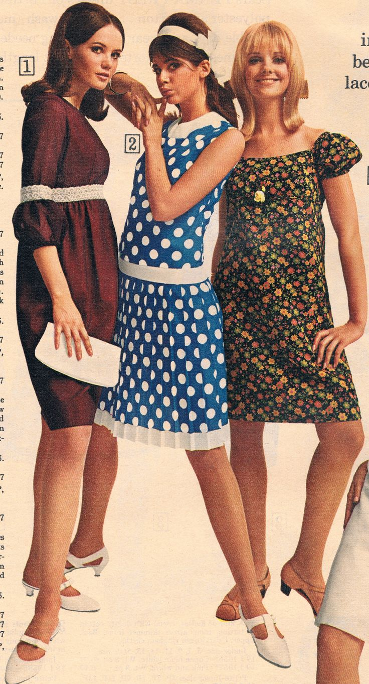 Sears 1966. Unknown model, Colleen Corby and Cay Sanderson.