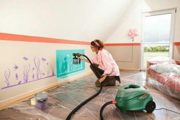 ber ideen zu wandschablonen kinderzimmer auf. Black Bedroom Furniture Sets. Home Design Ideas