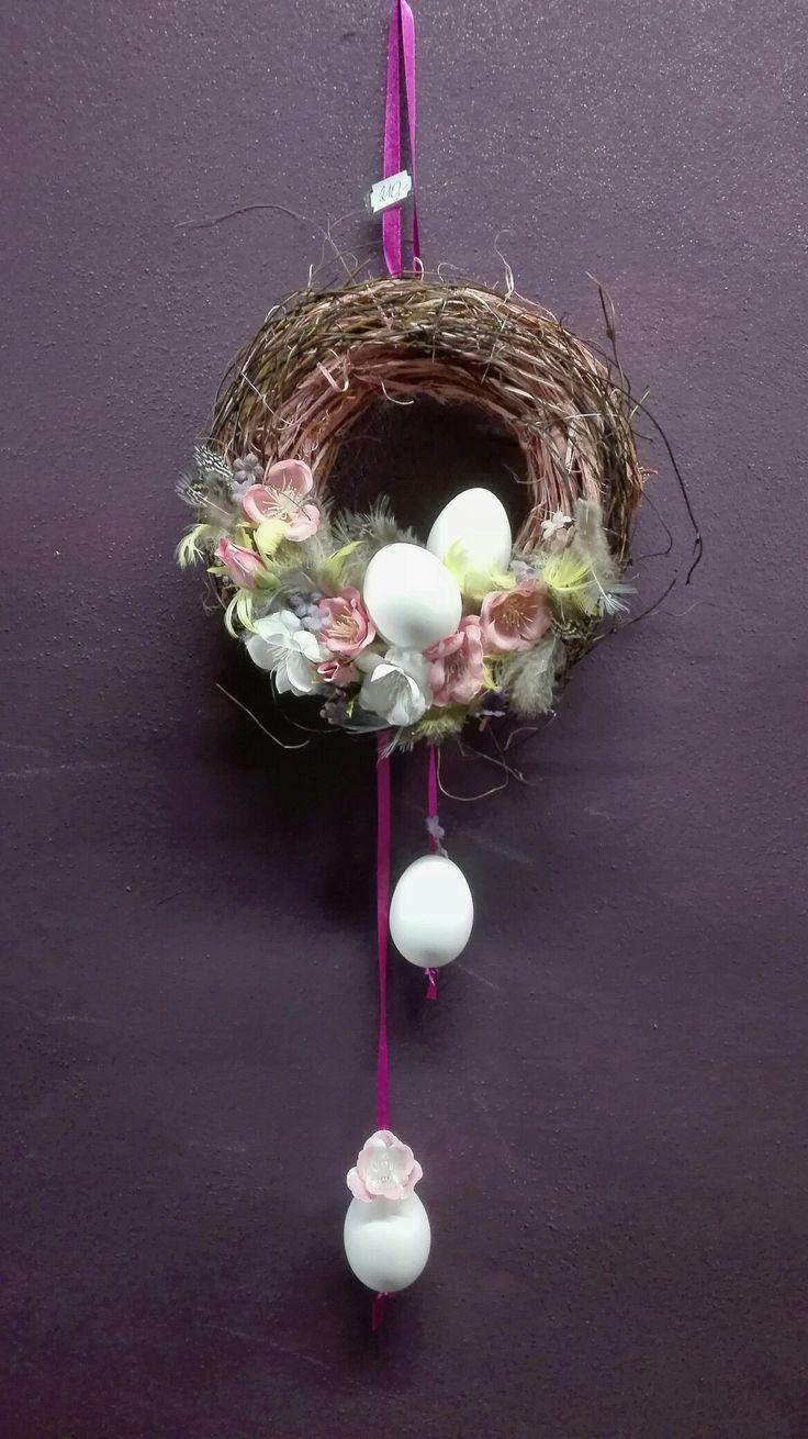 Velikonoční, jarní věnec