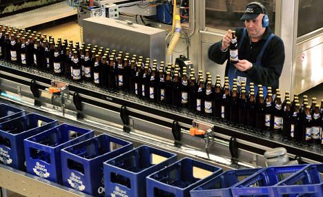 """BIGGEST BAVARIAN BREWER BANS GMOS FROM BEER. Germany's biggest beer company, Bavarian brewery Oettinger, has begun producing beer free from genetically modified ingredients. Soon Oettinger bottles will bear the """"GM free"""" symbol, as production using the new ingredients begins. The move was in response to requests made by consumers for more transparency from the brewery, owner and CEO Dirk Kollmar said."""