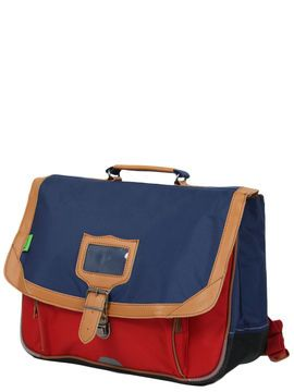 Cartable Classic 38 cm Bleu Rouge