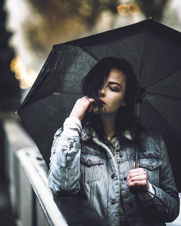 Идеи фото под дождем