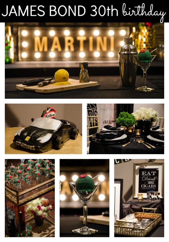 17 best ideas about 30th birthday themes on pinterest for 007 decoration ideas