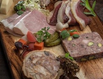 country duck terrine w/pistachio