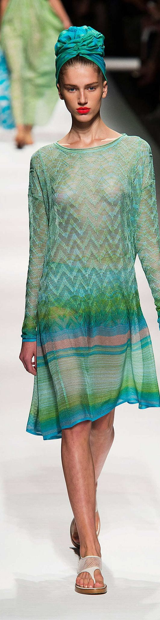 Missoni Collection Spring 2015- love the colour palette