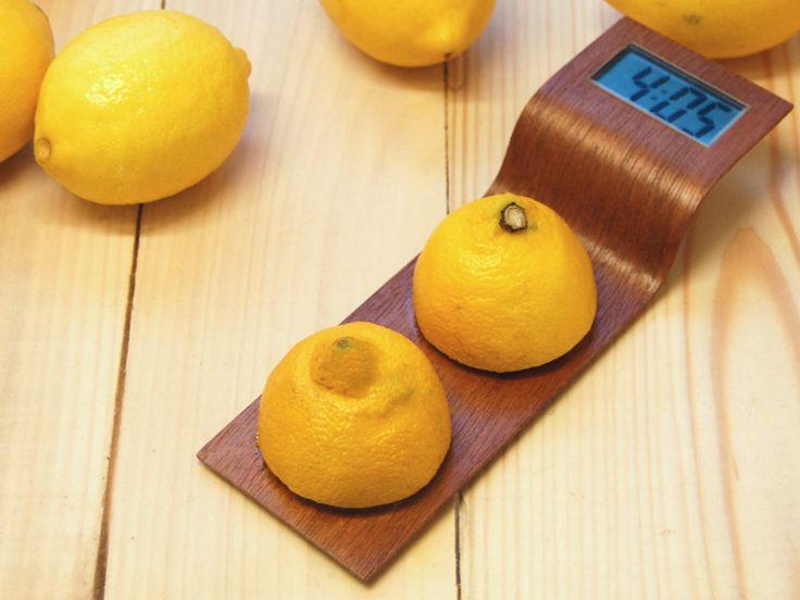 More juice: Citrus clock by Florian Dussopt & Julie Girard (not for sale) floriandussopt.com