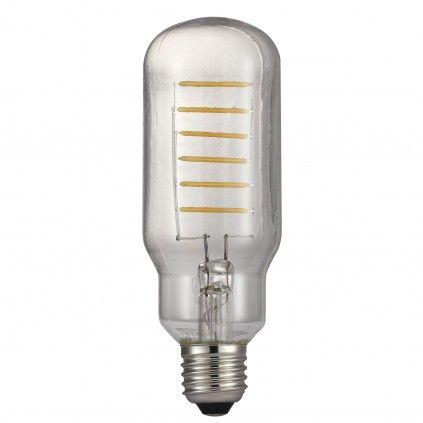 Nordlux Avra E27 LED Leuchtmittel 500lm 4W 2700K 360° Klar Filament dimmbar