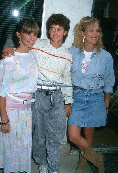 Olivia Newton John, Kirk Cameron and Joanna Kerns