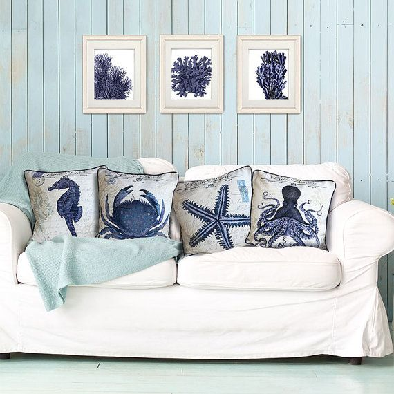 A beautiful nautical cushion cover with a vintage Parisian seaside theme.  Part of our 'Seaside Postcard' cushion collection, this lovely cushion cover will add an instant beach house effect to your décor, and bring summer into your home year round. Even on the coldest winter days.