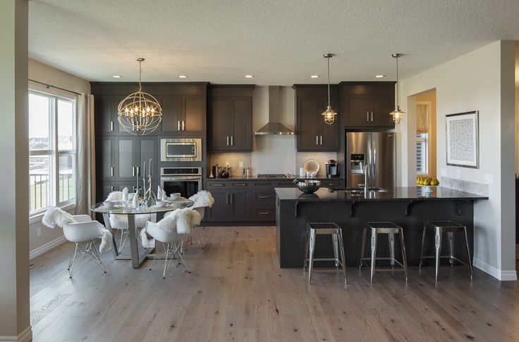 The Tremont Kitchen – Trico Homes – Check out the new homes built by www.tricohomes.com #homebuilder #tricohomes #calgary