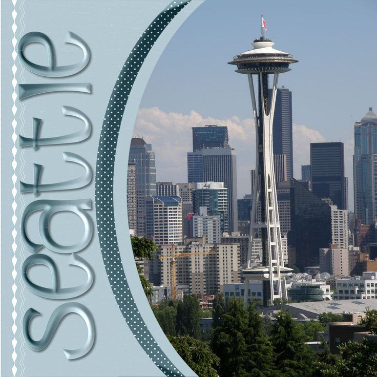 30 Best Seattle Washington Scrapbook Ideas Images On Pinterest