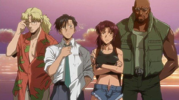 Black Lagoon | 28 Animes To Watch If You've Never Seen Anime