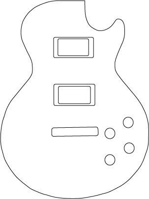 1000 images about guitar cake on pinterest fender for Electric guitar body templates