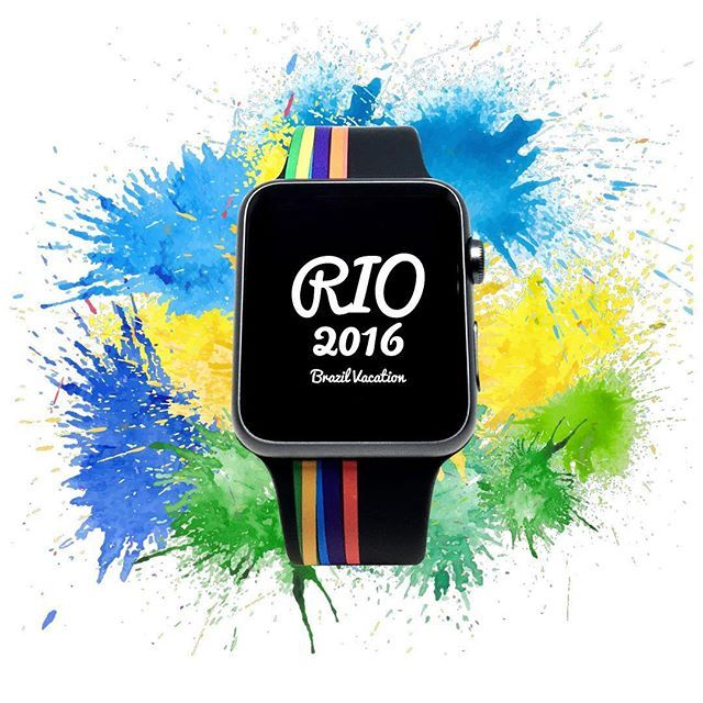 Rio 2016 Olympic  Live your passion  Viva Sua Paixao  #rioolympics #olympics #bio #applewatch #sport #swimming #athletic #running #football #soccer #basketball #volleyball #tennis #golf #baseball #hockey #cycling #gymnastics #sailing #boxing #judo #taekwondo #neversaynever  @goviloop