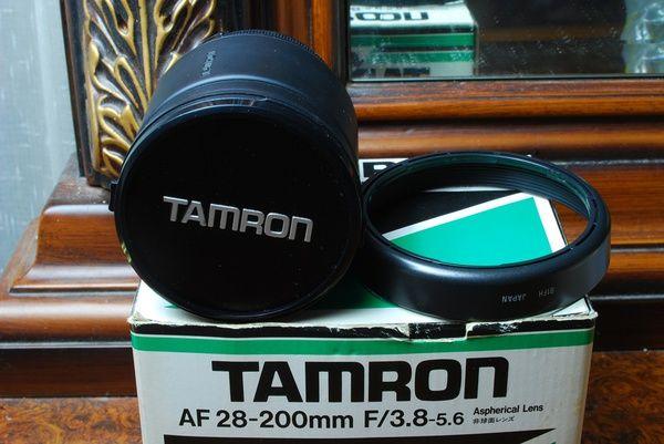 Lensa Tamron AF 28-200 mm f/ 3.8-5.6 Aspherical Mount Nikon, Mulus Istimewa!!