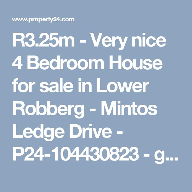 R3.25m - Very nice 4 Bedroom House for sale in Lower Robberg - Mintos Ledge Drive - P24-104430823 - games room.  Nice and neat with slight sea views