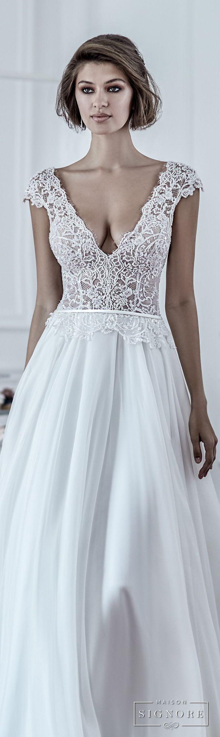 479 best Wedding Dresses images on Pinterest | Wedding dressses ...