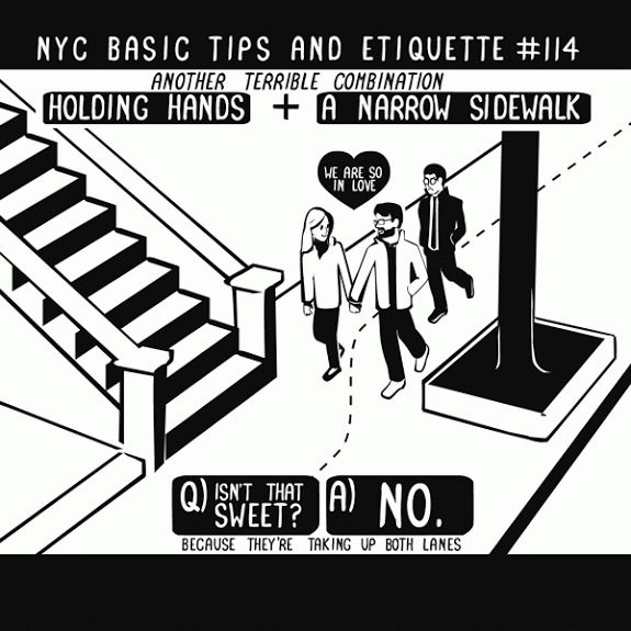 NYC tips and etiquette