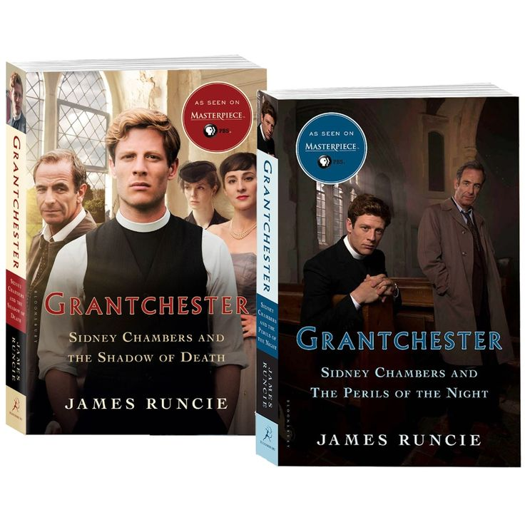 Grantchester The Sidney Chambers and The Shadow of Death + Sidney Chambers and the Perils of the Night Book Combo