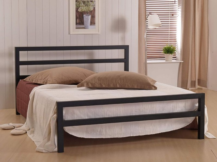 find this pin and more on iron beds camas de ferro city block king size - King Size Iron Bed Frame