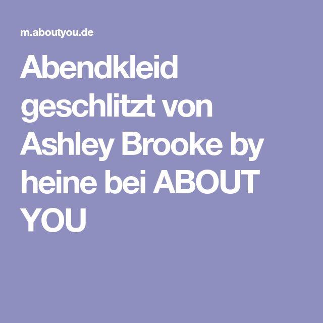 Abendkleid geschlitzt von Ashley Brooke by heine bei ABOUT YOU