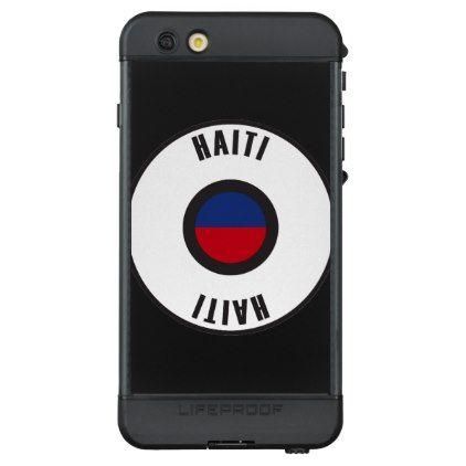 #simple - #Haiti Flag Simple LifeProof® NÜÜD® iPhone 6s Plus Case