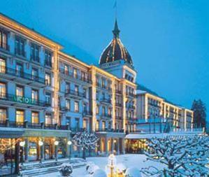 Most beautiful hotel I've stayed at in Interlaken, Switzerland..Victoria Jungfrau