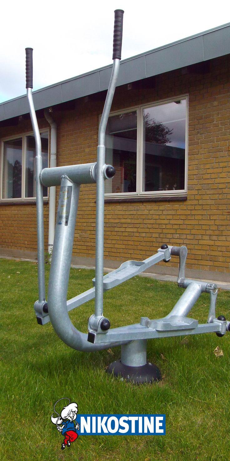 Billeder af udendørs fitness redskaber opsat på Social og Sundheds Skolen i Esbjerg af Nikostine. #Nikostine #NikostineDK #Fitness #Udendørs #UdendørsFitness #Fitnessredskaber #Træning #Kondi #Styrketræning #TræningUdenfor #TempoTempo #SosuEsbjerg #Esbjerg #SOSU #Aktiv #Aktivtræning