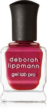 Deborah Lippmann's 'Cranberry Kiss' nail polish is part of the (RED) campaign - a program that raises awareness and funds to help eliminate HIV and AIDS in Africa. Formulated with 10 treatment ingredients, the 'Gel Lab Pro' formula delivers a chip-resistant and high-shine manicure without the need for UV lamps