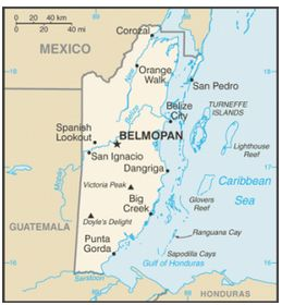 Belize map – Corozal town, which borders Mexico, and is right by the Caribbean Sea.  Here you can find commercial banks, supermarkets and big hotels as well as restaurants and bars. - See more at: http://bestplacesintheworldtoretire.com/questions-and-answers/2595-in-general-what-are-the-different-regions-or-provinces-of-belize#sthash.TatW4lN2.dpuf