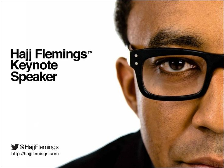 2014 Hajj Flemings Keynote Speaker Kit