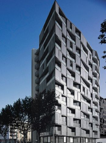 Carlos Ferrater Barcelona Housing