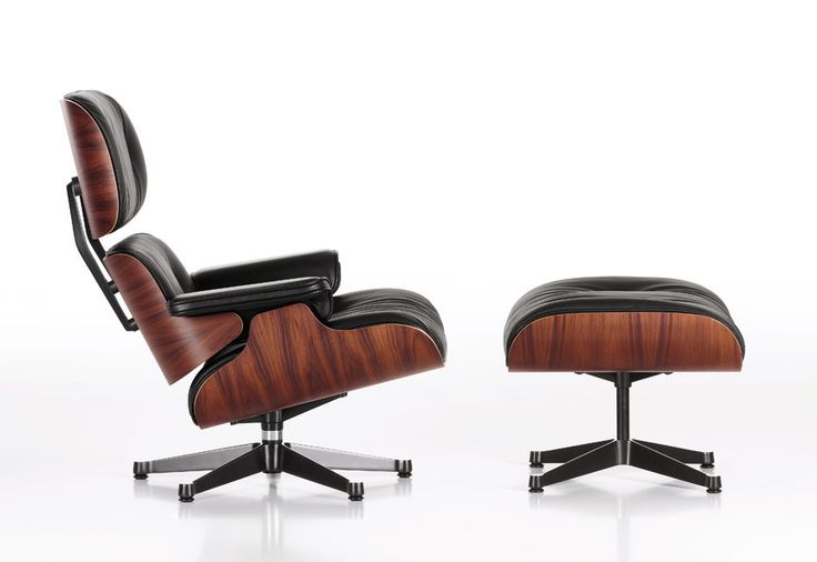 Hampton chair is Inspired by Charles & Ray Eames. This legendary lounge chair coming with ottoman and genuine Italian leather and other high quality material and labor of MobiliModern quality.