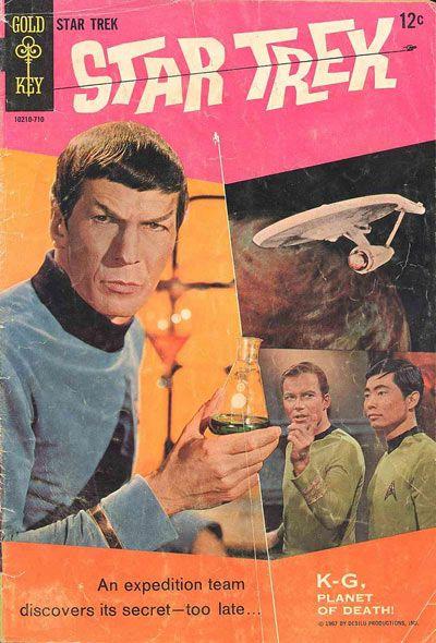 Gold Key Star Trek Comic Book