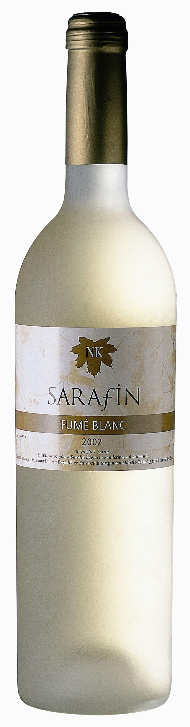 Best Turkish White Wine: Sarafin Fume Blanc by Doluca Wine