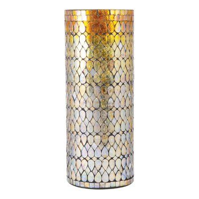 Bloomsbury Market Aubina Silver Glass Table Vase