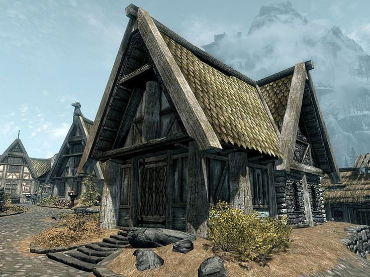 Skyrim House Breeze home. Whiterun skyrim bound