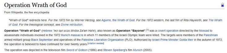 Operation Wrath of God