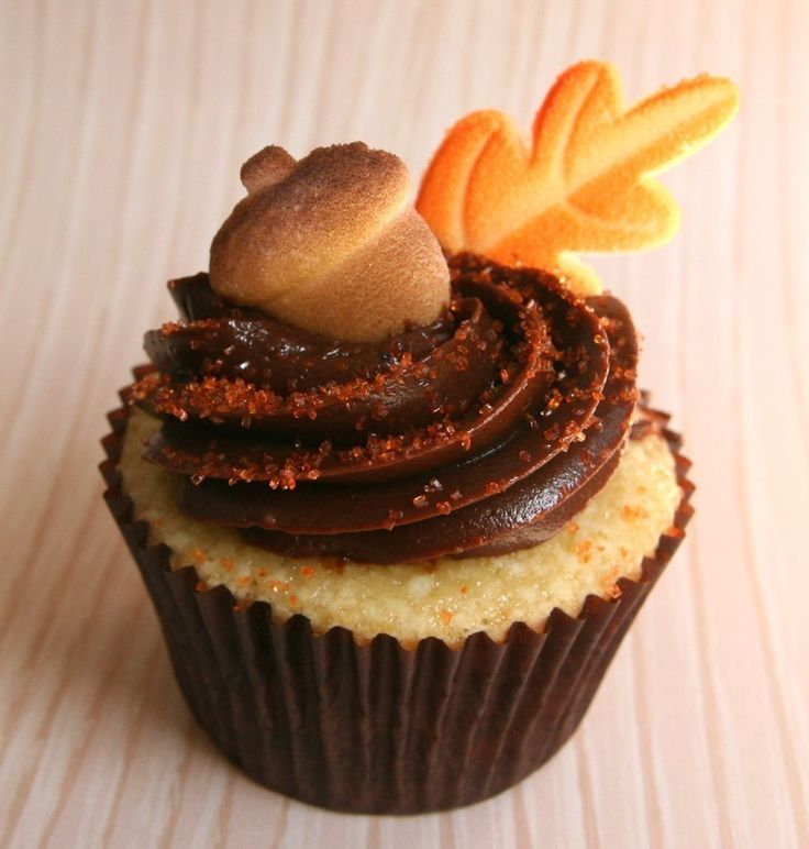 Fall Cupcake Decorations Part - 46: 662 Best Cupcakes / Cakes - Fall / Fall Flavors Images On Pinterest |  Cupcake Recipes, Cupcake Ideas And Desserts