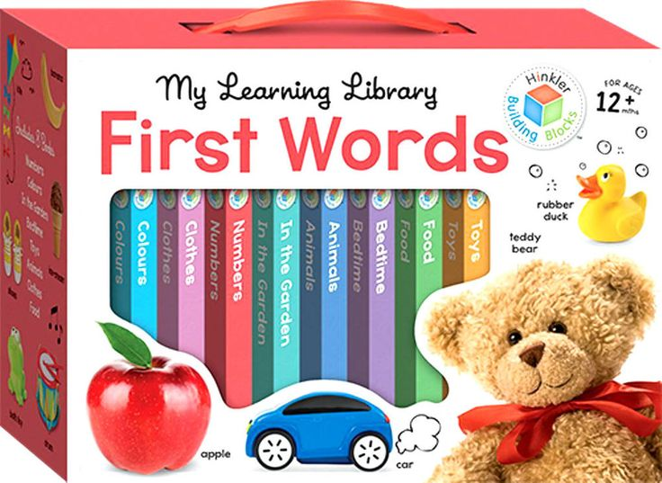 My Learning Library First Words Hinkler Building Blocks Christmas Gift FREE POST