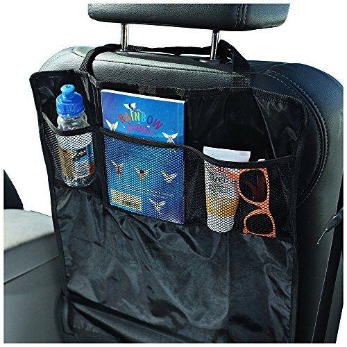 Protectores contra patadas para asiento de coche - 2 unidades - Mantenga los respaldos de los asientos del coche protegidos contra los pies sucios de niños - Complete con organizadores prácticos tipo bolsillo. Sidekick http://www.amazon.es/dp/B00S0RMCO2/ref=cm_sw_r_pi_dp_67UAwb16CER4C