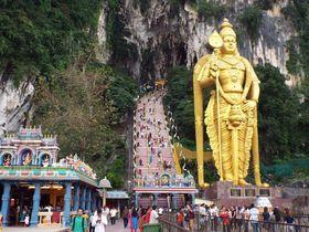 荘厳なパワースポットバトゥ洞窟はマレーシア随一のヒンドゥー教の聖地マレーシアTravel.jp[たびねす]
