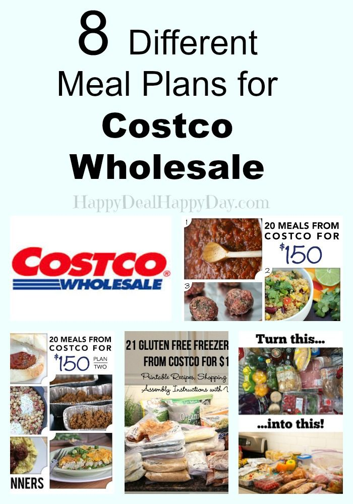 Costco Rochester NY is OPEN!! 8 Different Meal Plans – Buy 20 Meals for $150 from Costco Wholesale! happydealhappyday.com