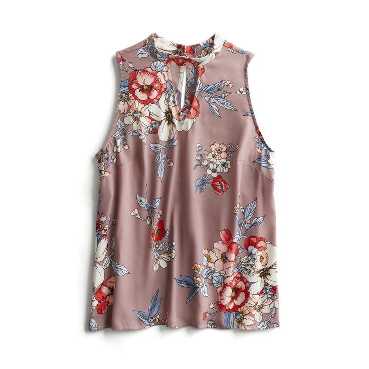 Spring Stylist Picks: Floral sleeveless blouse