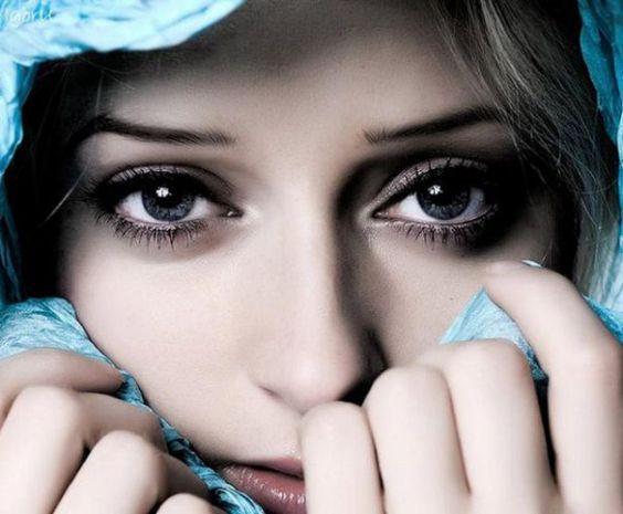No hay nada mas hermoso que la mirada de una mujer
