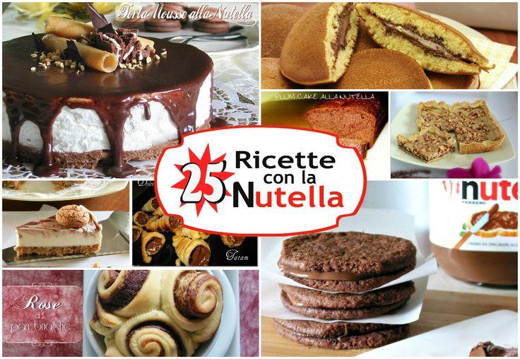 Ricette con la Nutella una selezione di ben 25 ricette di deliziosi dolci come biscotti, crostate, cheesecake, dolci lievitati farciti con questa ....