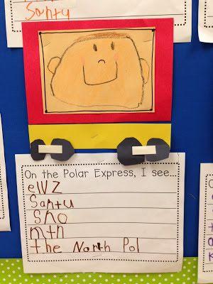 Polar Express Day activities.